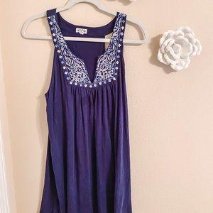 Navy blue Lucky dress
